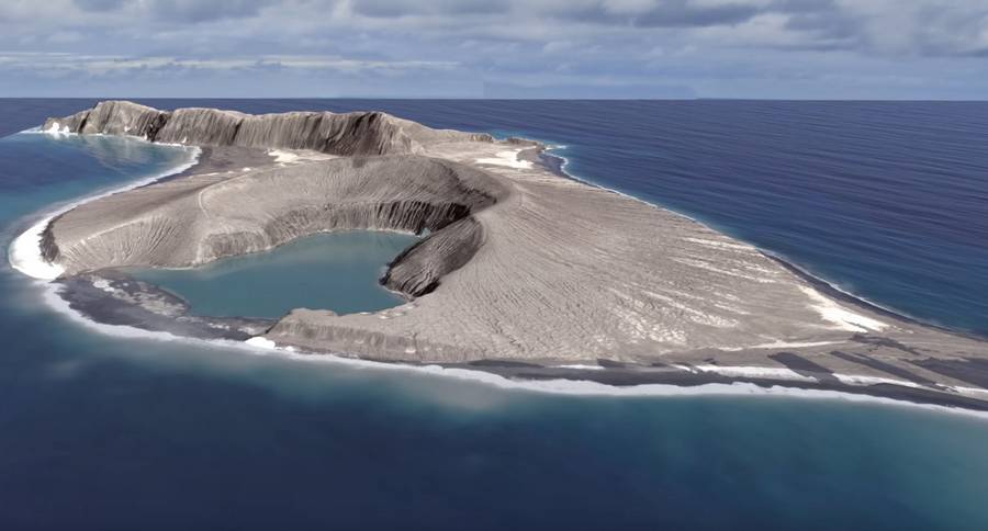 The Birth of a New Island in the South Pacific
