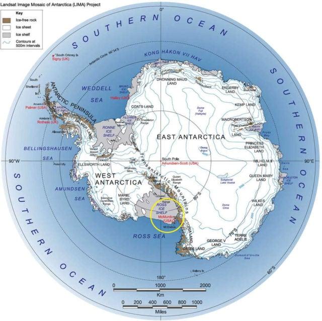 Antarctica's McMurdo Sound