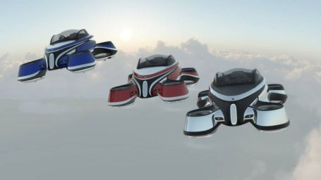 The Hover Coupe Flying car concept (2)
