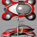 The Hover Coupe Flying car concept (1)