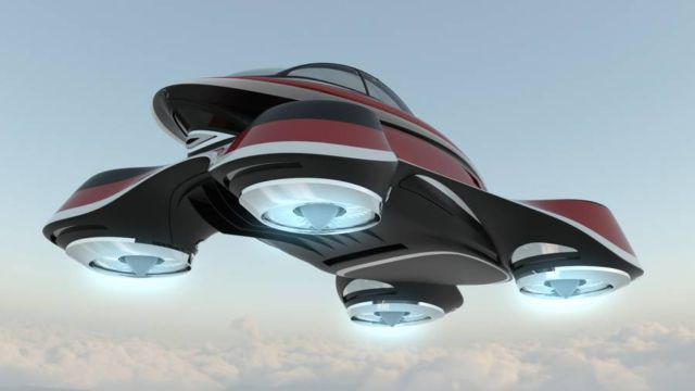 The Hover Coupe Flying car concept (9)
