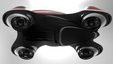 The Hover Coupe Flying car concept (7)