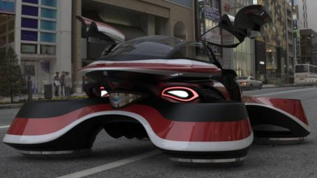 The Hover Coupe Flying car concept (6)