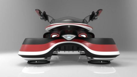 The Hover Coupe Flying car concept (5)