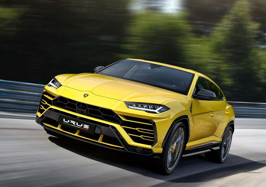 The New Lamborghini Urus SUV (13)