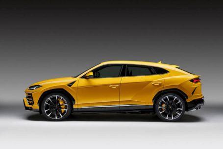 The New Lamborghini Urus SUV (3)