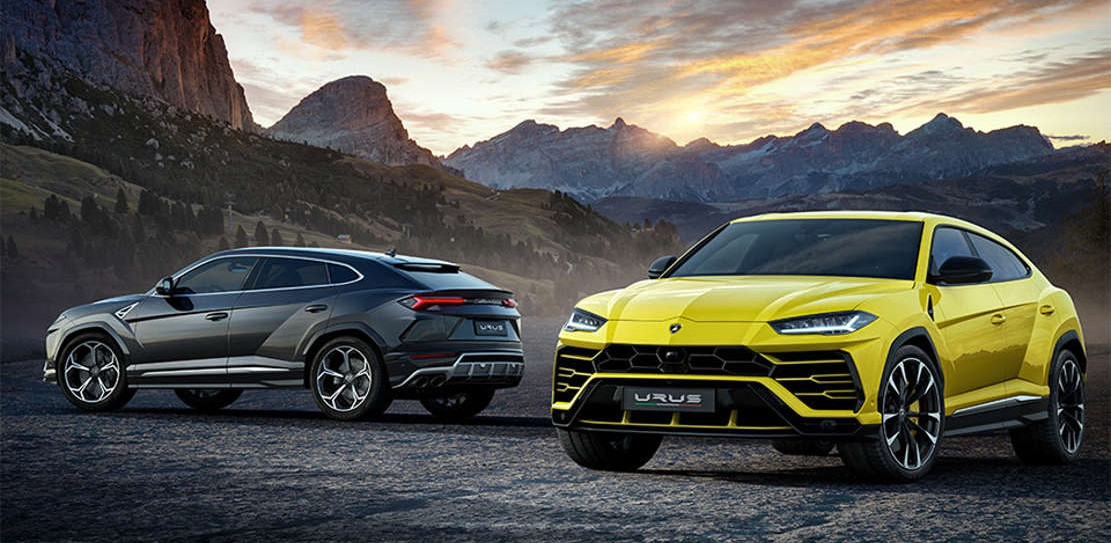 The New Lamborghini Urus SUV (1)