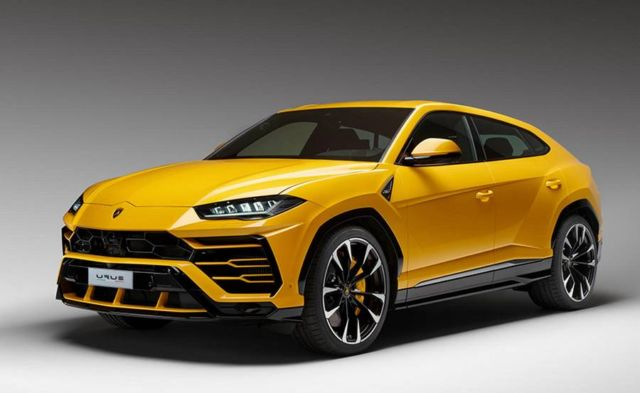The New Lamborghini Urus SUV (12)
