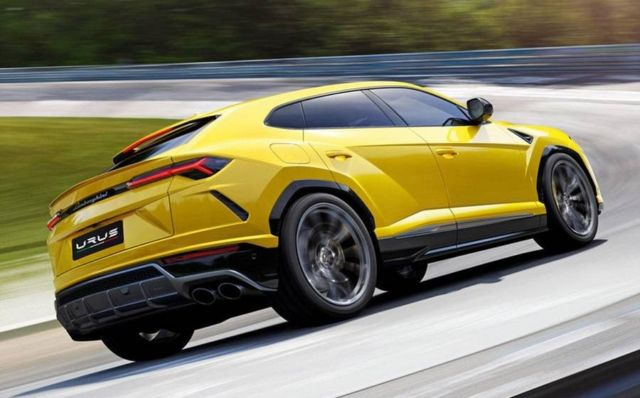 The New Lamborghini Urus SUV (11)
