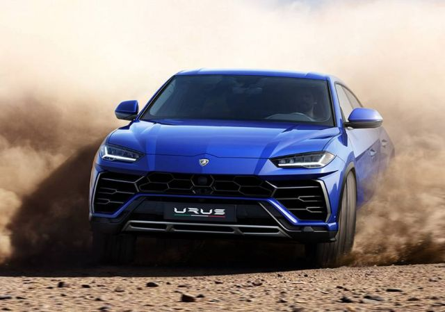 The New Lamborghini Urus SUV (9)
