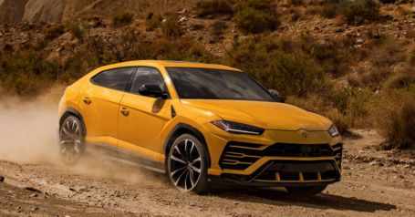 The New Lamborghini Urus SUV (5)