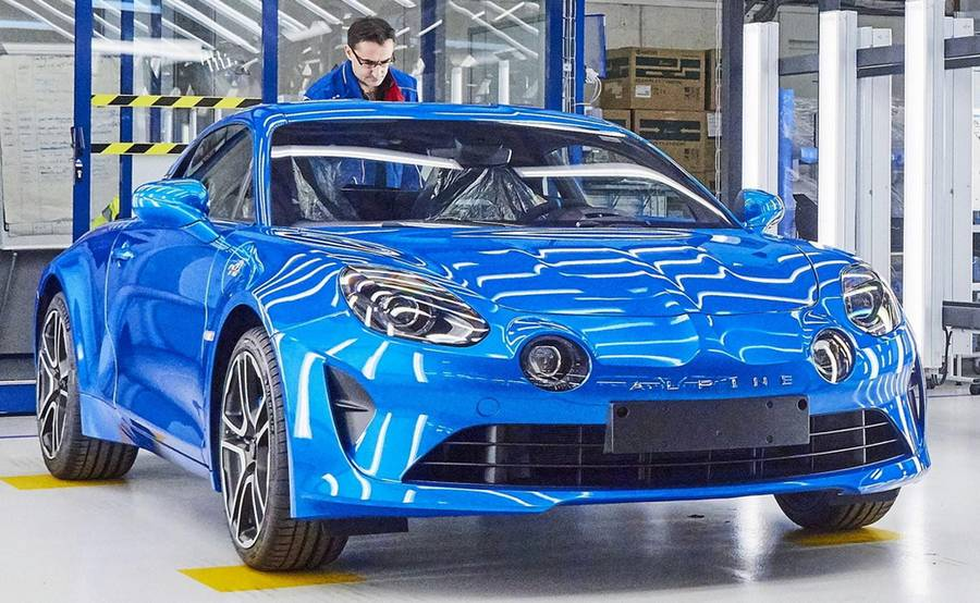 The new Alpine A110 production line (11)