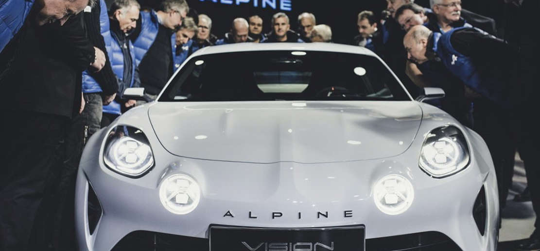 The new Alpine A110 production line (1)