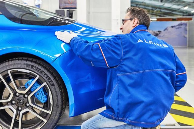 The new Alpine A110 production line (10)