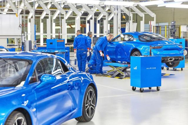 The new Alpine A110 production line (6)