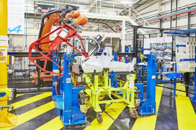 The new Alpine A110 production line (4)