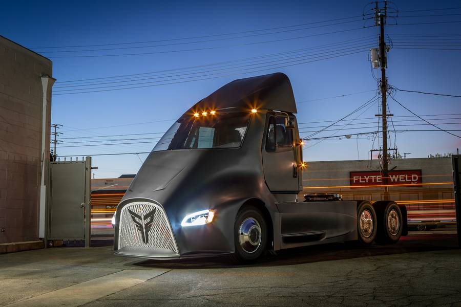 Thor ET-One electric Semi Trucks