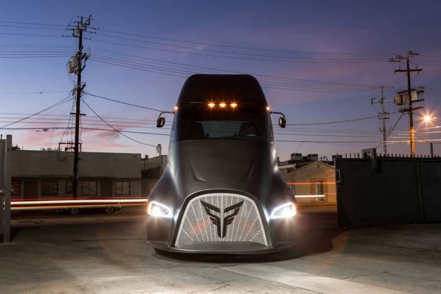Thor ET-One electric Semi Trucks (3)