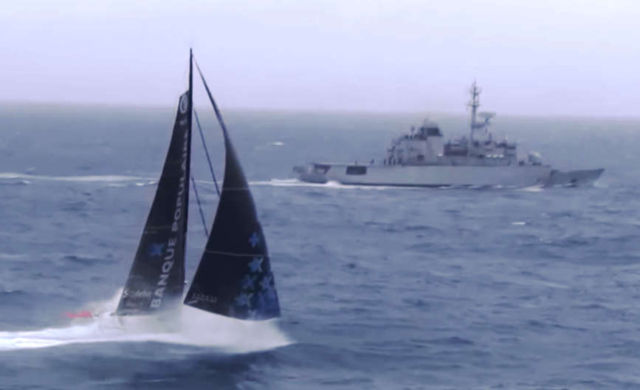 Vendee Globe - Meeting in the Ocean
