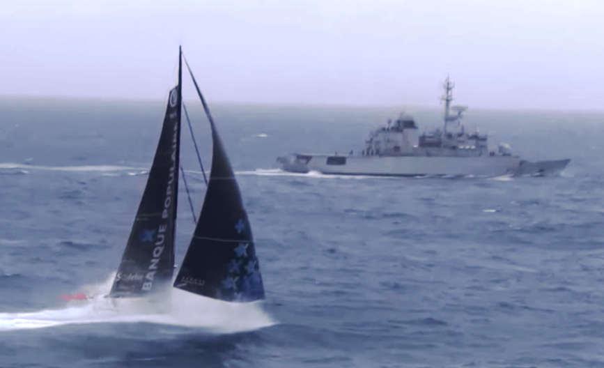 Vendee Globe - Meeting in the Ocean