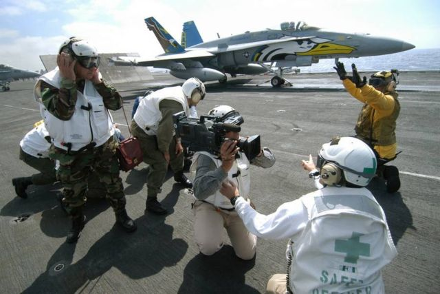 The color-coded uniforms of US Aircraft Carrier Crews (2)