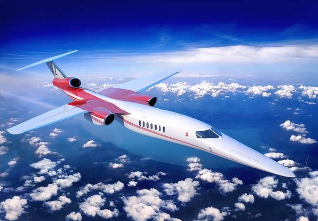 Lockheed Martin and Aerion Supersonic business jet