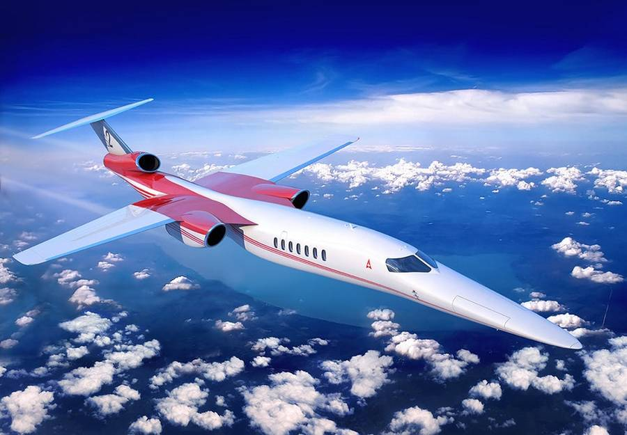 Lockheed Martin and Aerion Supersonic business jet (9)