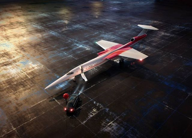 Lockheed Martin and Aerion Supersonic business jet (8)
