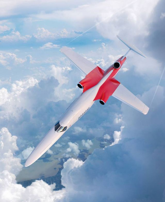 Lockheed Martin and Aerion Supersonic business jet (4)
