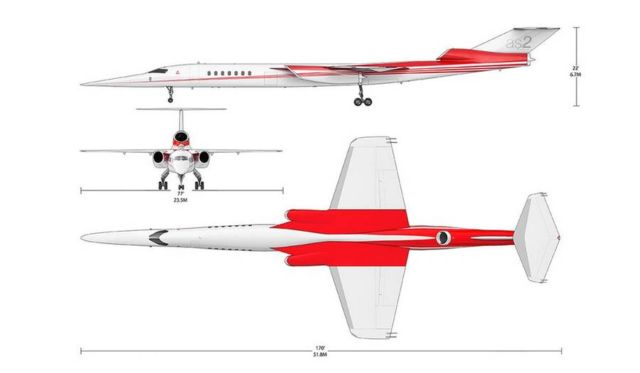 Lockheed Martin and Aerion Supersonic business jet (3)