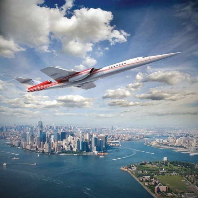 Lockheed Martin and Aerion Supersonic business jet (2)