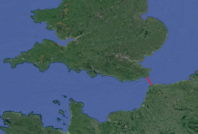 22-mile bridge to connect UK and France proposed
