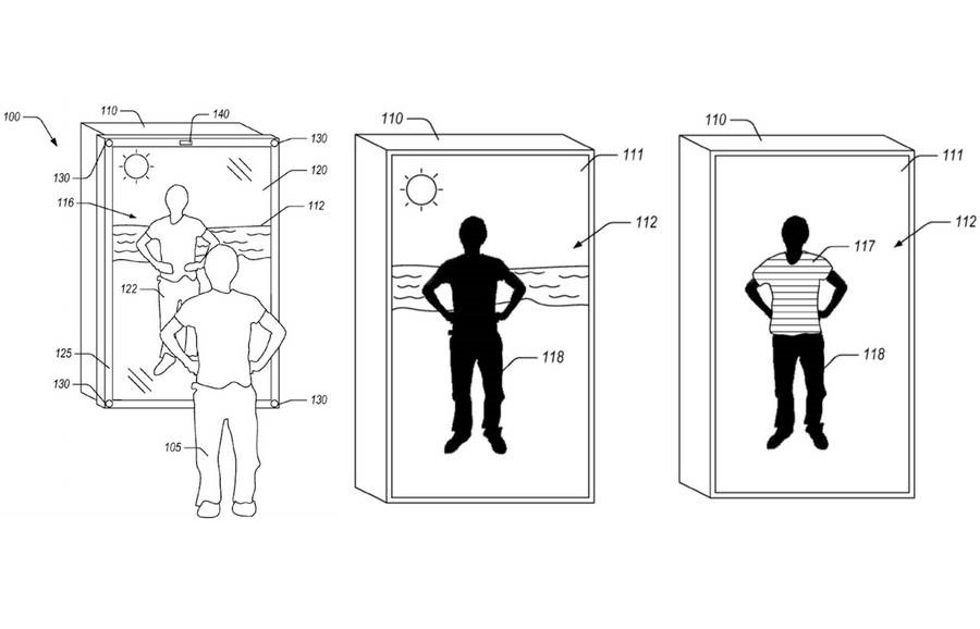 A Mirror that Dresses you in Virtual Clothes