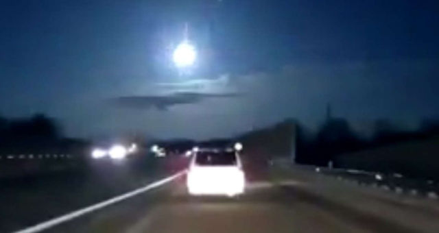 A giant fireball over Michigan