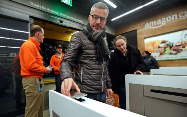 Amazon Go the Store of the Future opened