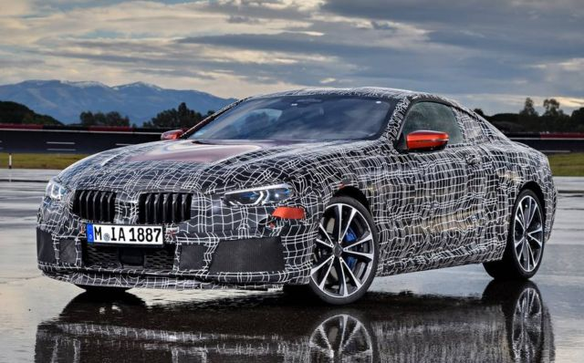 BMW tests the new 8 series