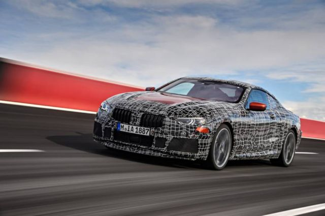 BMW tests the new 8 series (2)