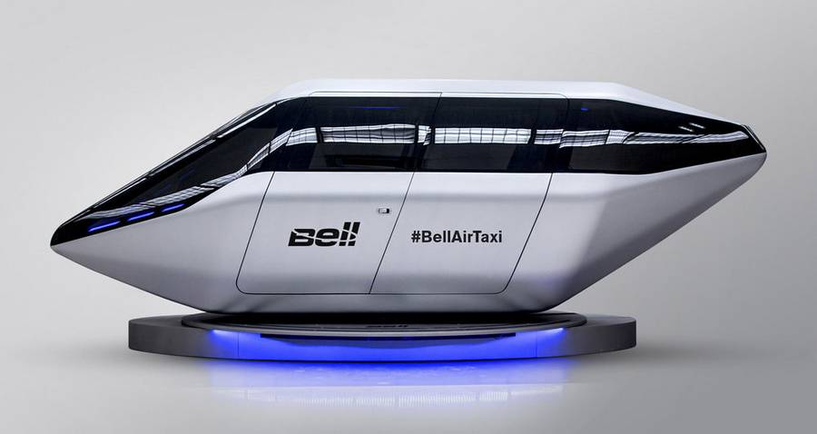 Bell Helicopter new Flying Taxi concept