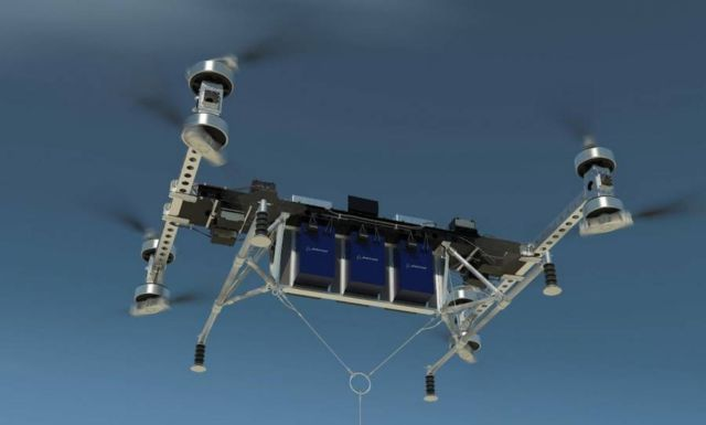 Boeing new cargo air vehicle
