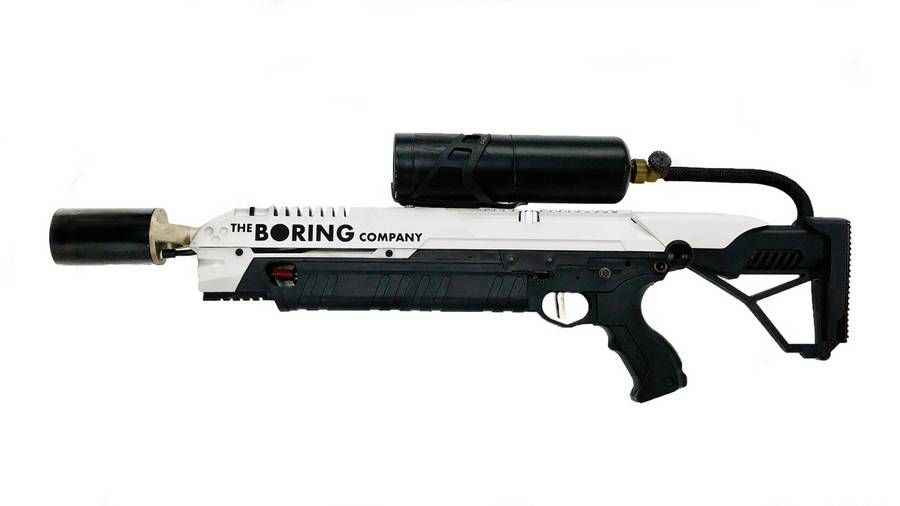 Boring Company is selling a flamethrower