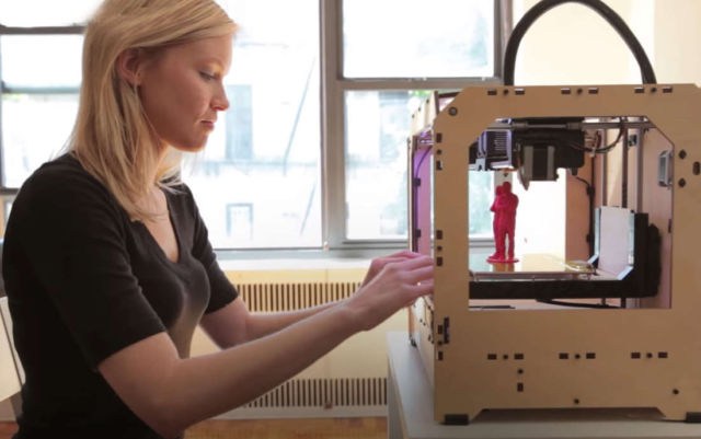 In 100 years we will 3D Print Everything