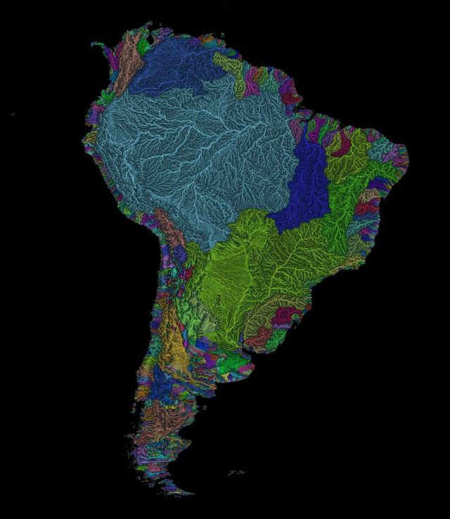Maps of the World's hidden Geographies