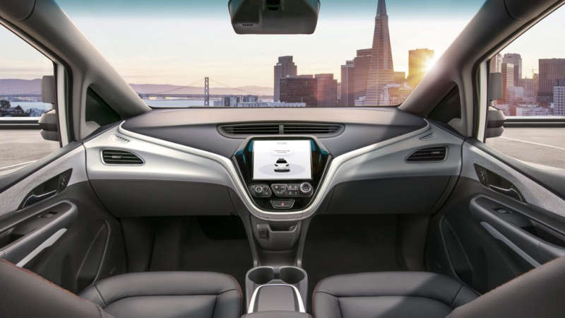 Meet the Cruise AV with no steering wheel Self-Driving Car