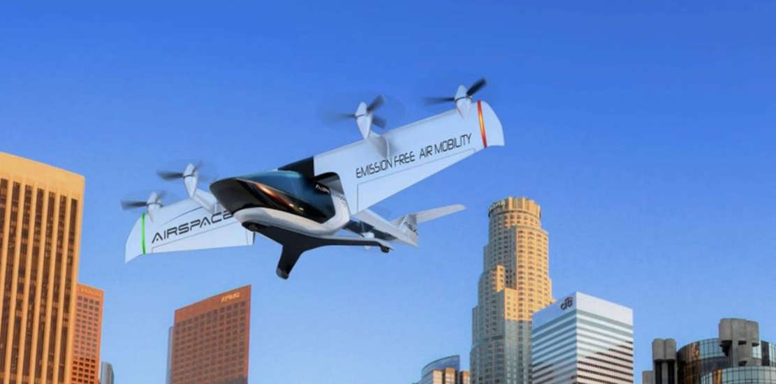 Mobi-One Autonomous electric air taxi (1)