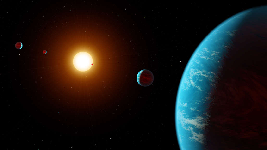 Multi-planet System discovered through citizen scientists