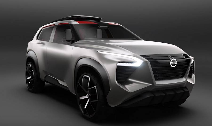 Nissan Xmotion concept compact SUV