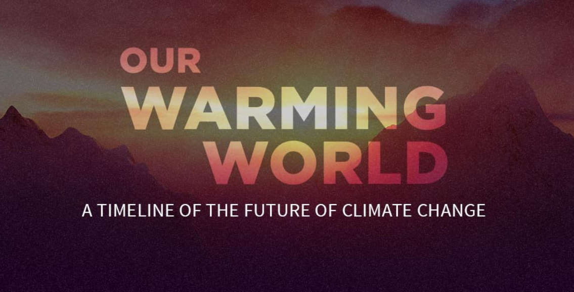 Our Warming World – infographic