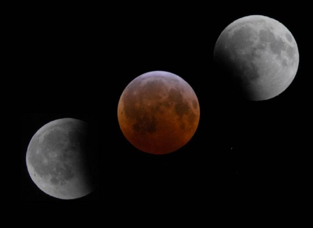 Rare Super Blue Blood Moon Total Lunar Eclipse