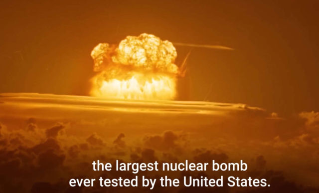 This is how powerful Nuclear Weapons are