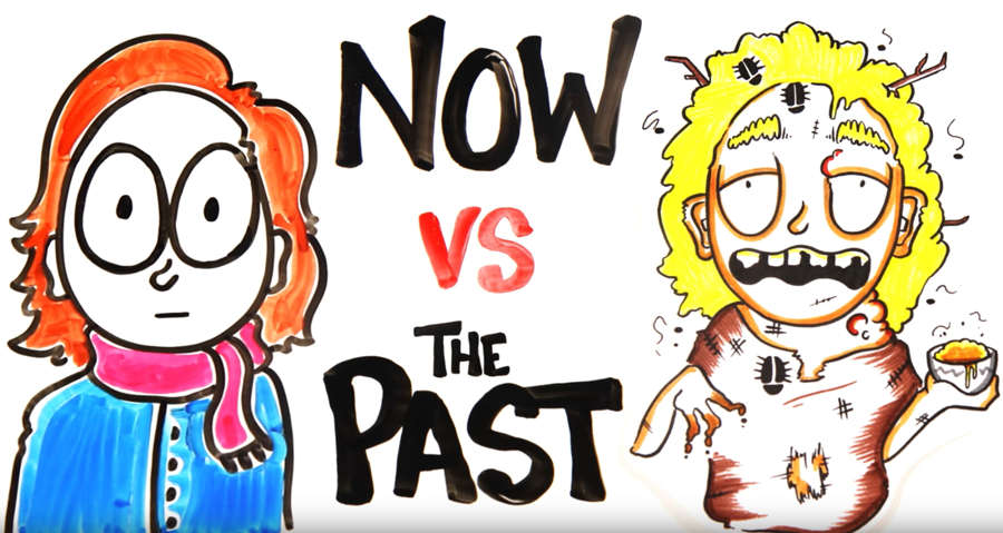 Your Life Now Vs. in the Past